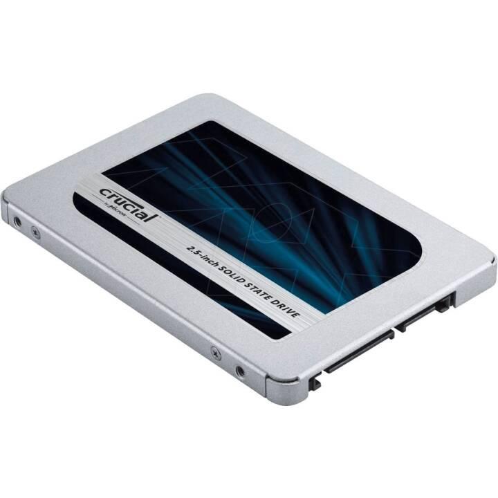 CRUCIAL MX500 (SATA-III, 250 GB, Silber)