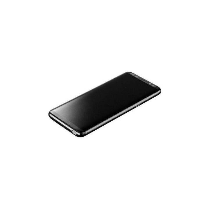 CELLULAR LINE Verre de protection d'écran Second Glass Curved Capsule Samsung Galaxy S9 Plus (Clair)