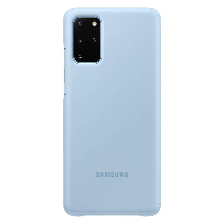 SAMSUNG Flipcover Clear View (Galaxy S20+, Hellblau)
