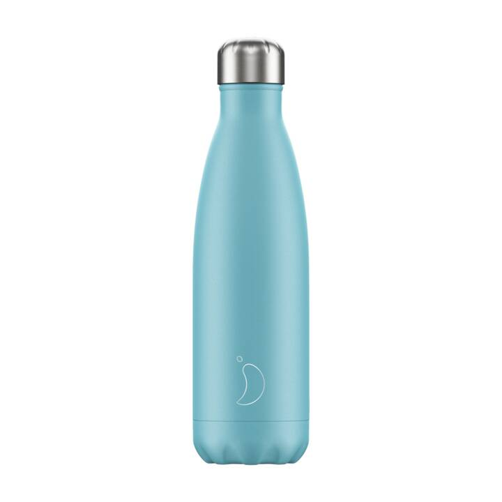 CHILLY'S Thermo Trinkflasche Pastel (0.5 l, Hellblau)