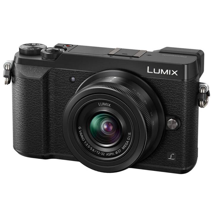 PANASONIC DMC-GX80 Noir Lumix G Vario 12-32 mm