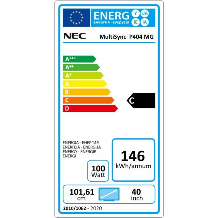 "NEC MultiSync P404 MG (40 "", LED)"