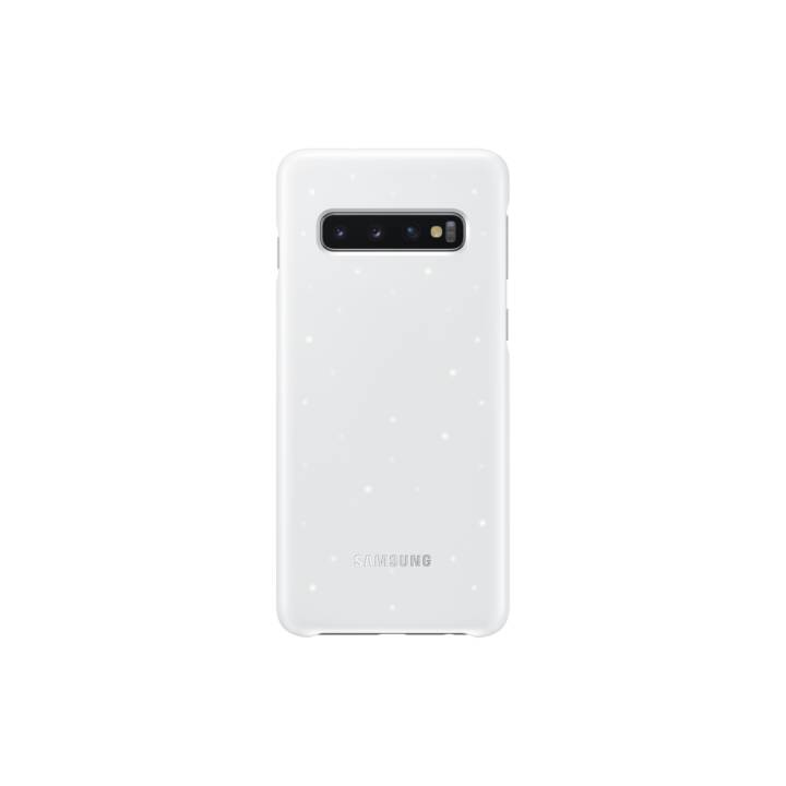 SAMSUNG Backcover LED  (Galaxy S10, Weiss)