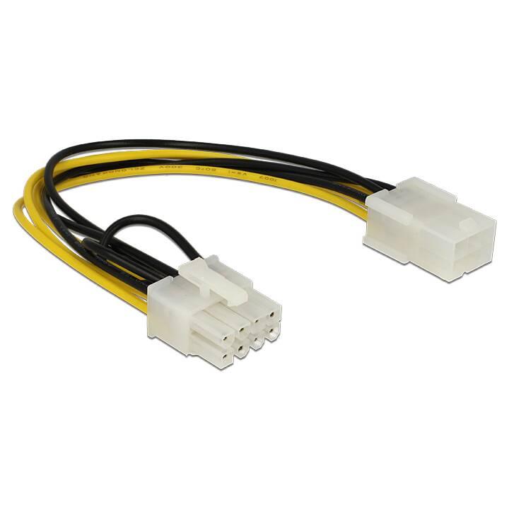 DELOCK Verbindungskabel (6 Pin, 8 Pin, 20 cm)