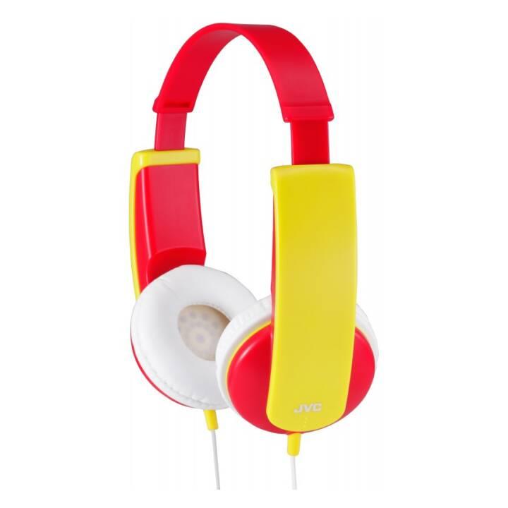 JVC On-Ear-Kinderkopfhörer HA-KD5-R-EF Red