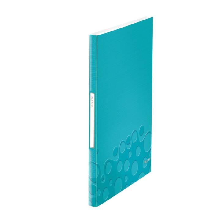 Libretto LEITZ WOW 40 maniche, blu