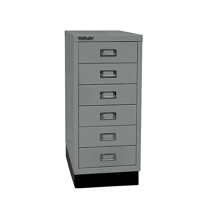 BISLEY MultiDrawer Schubladenbox (A4, Silber)