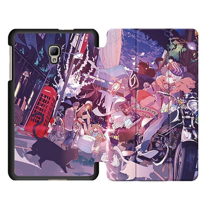 """EG MTT Tablet Bag con Smart Foldable Cover per Samsung Galaxy Tab A 8 """"Tablet - Comics"""