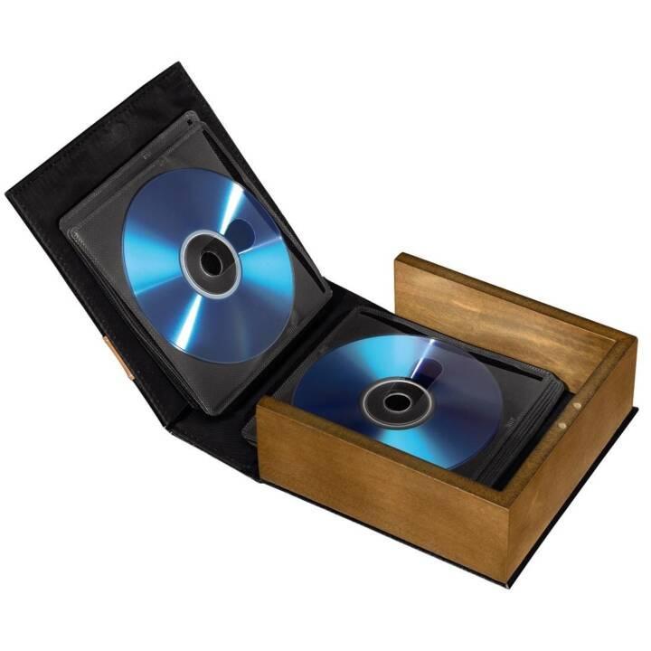 HAMA Boîtier pour 28 CD/DVD/BD