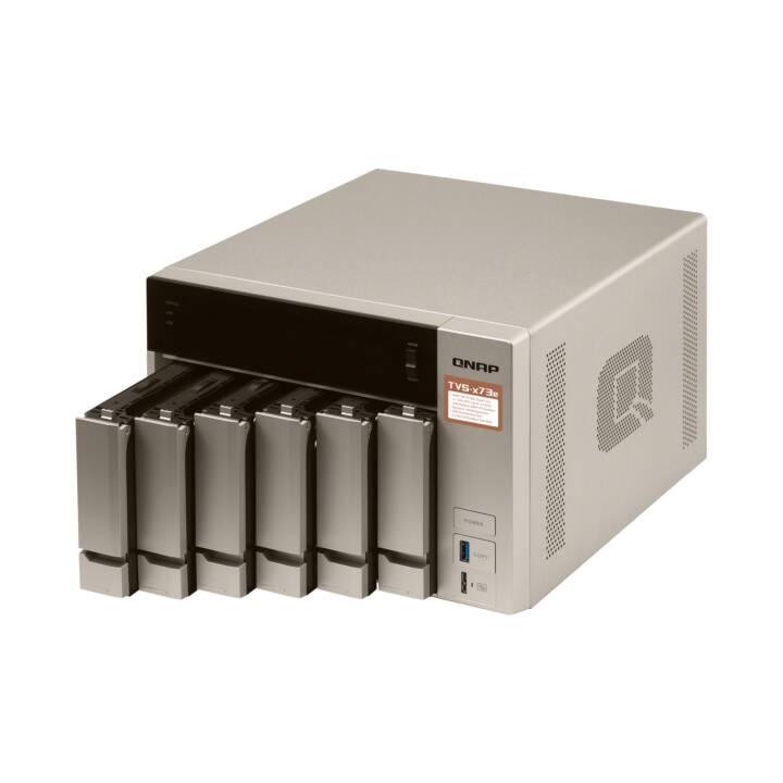 QNAP SYSTEMS, INC TVS-673E - Serveur NAS - 0 Go