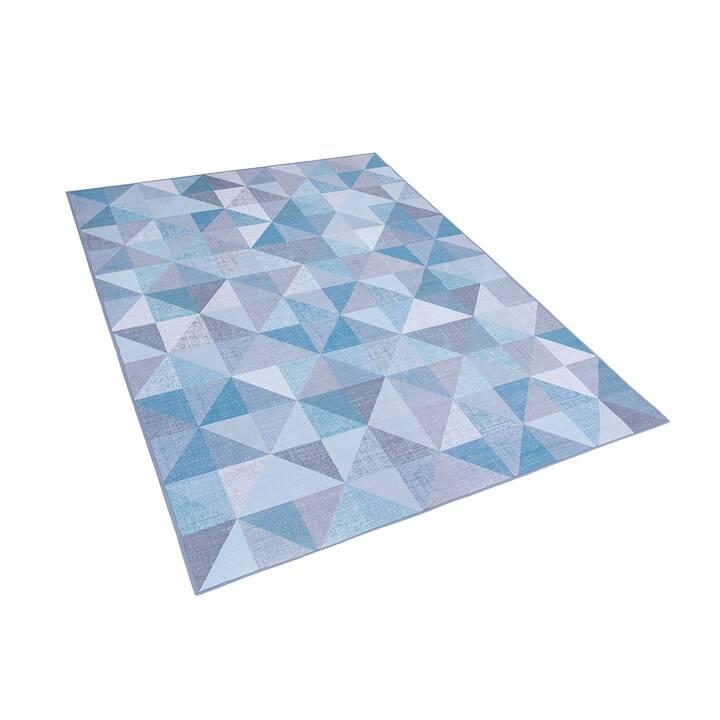 BELIANI Teppich Kartepe (140 cm x 200 cm, Blau)