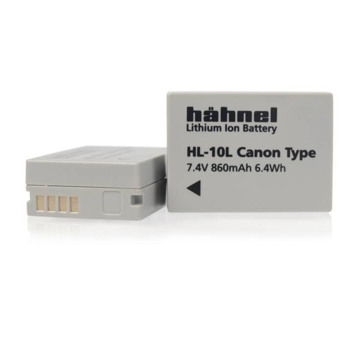 HÄHNEL HL-10L Batteria della fotocamera digitale, ioni di litio, 860 mAh