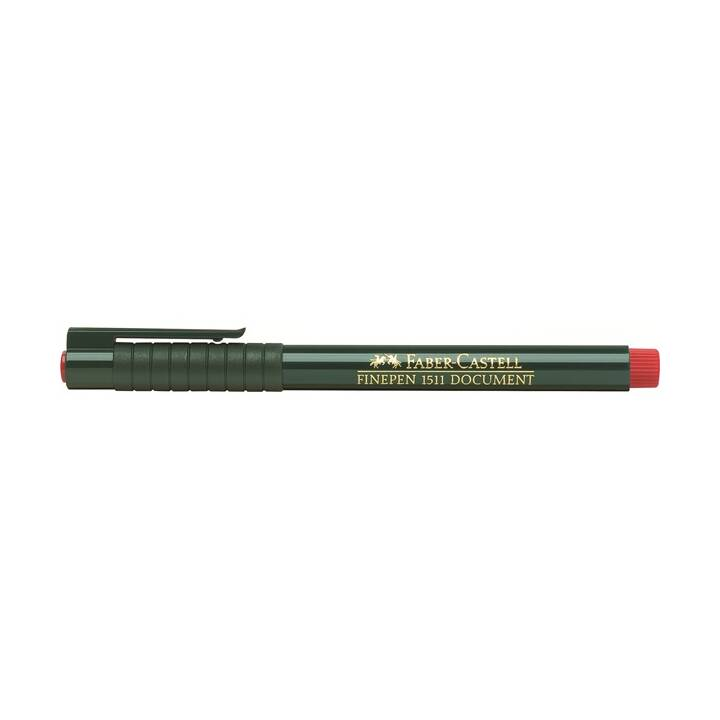 FABER-CASTELL FINEPEN 0.4mm Rouge