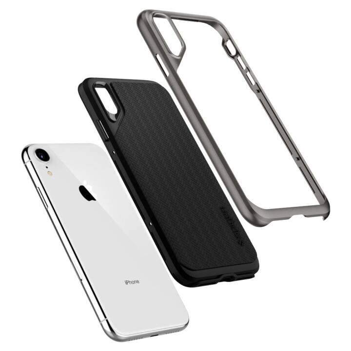 SPIGEN Couverture arrière Neo Hybrid iPhone XR Gunmetal