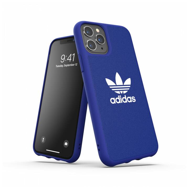 ADIDAS Backcover Moulded Canvas (iPhone 11 Pro, Blu)