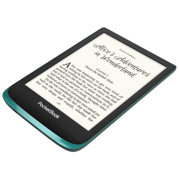 POCKETBOOK E-Book Reader Touch Lux 4, Smaragdgrün