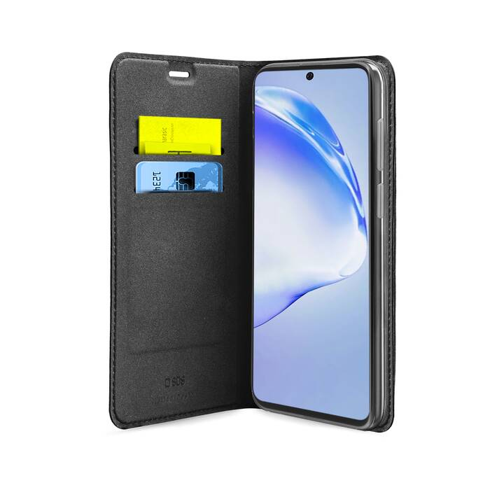 SBS Flipcover Wallet Case Lite (Galaxy S20+, Nero)