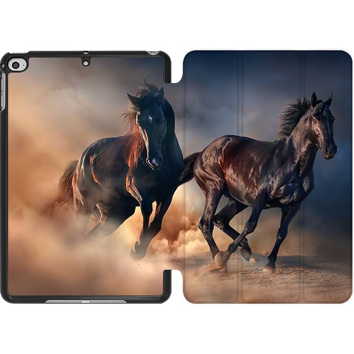 EG MTT Coque pour iPad Mini 4 (2015) et Mini 5 (2019) - cheval