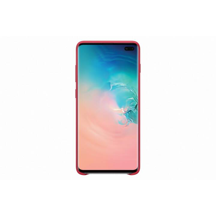 SAMSUNG Backcover Leather  (Galaxy S10, Rot)