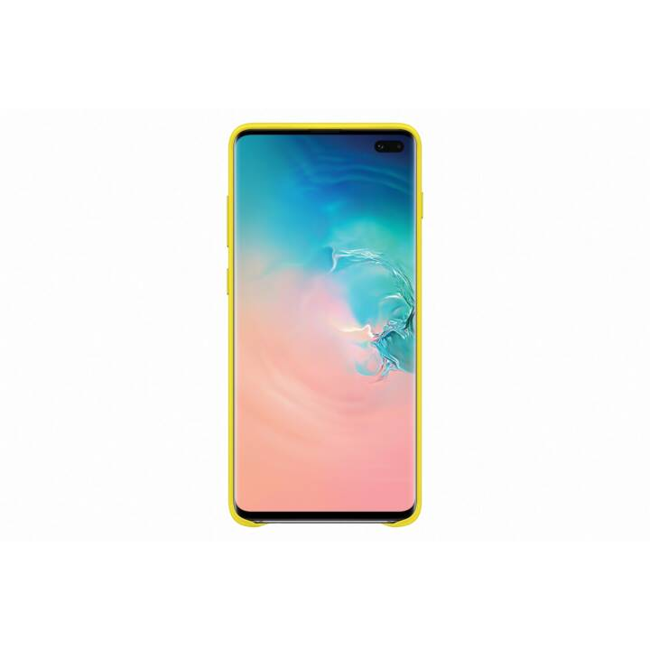 SAMSUNG Backcover Leather  (Galaxy S10, Gelb)