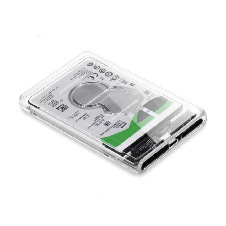 Boîtier d'adaptateur de disque dur INTERTRONIC 2,5 po