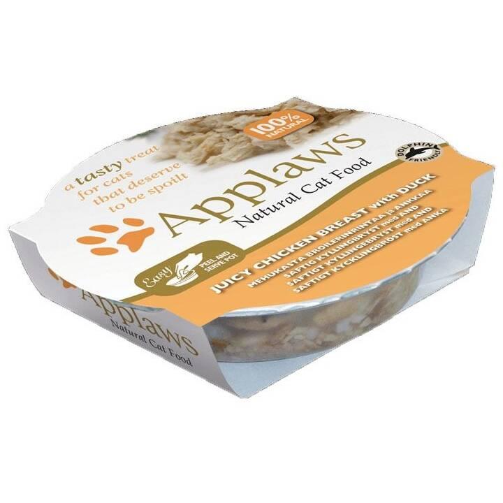 APPLAWS Cat Pot  (Adulto, Pollame, 60 g)