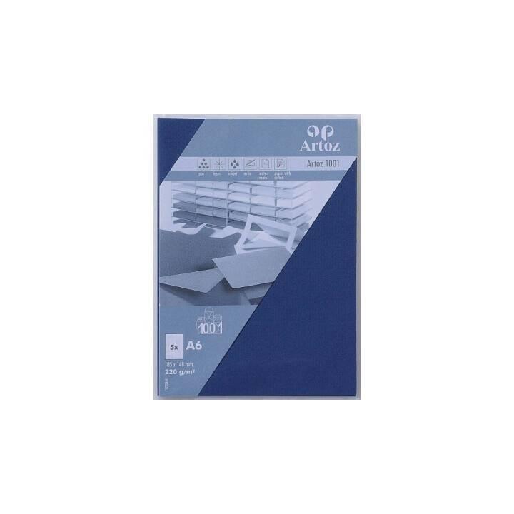 ARTOZ Blankokarte (Universal, A6, Blau)