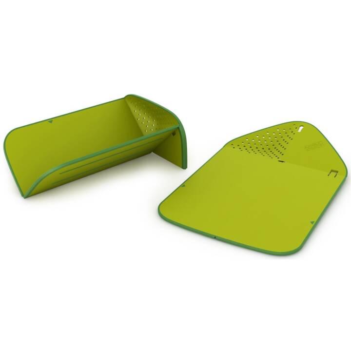 Tagliere JOSEPH JOSEPH Chop & Rinse Cutting Board PLUS verde