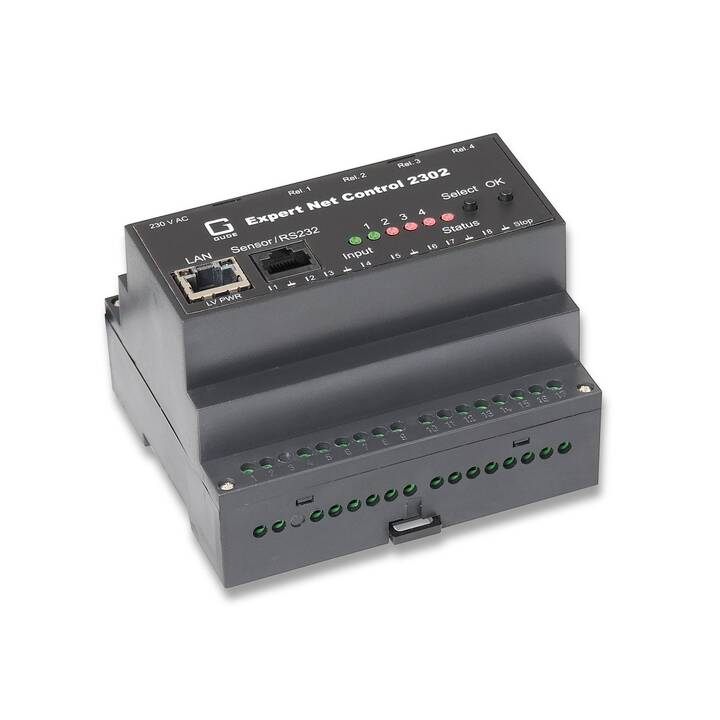 GUDE Jonction et modules E/S Expert Net Control 2302-1