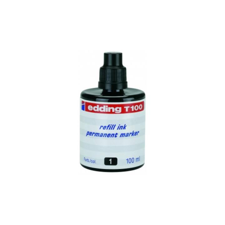 EDDING Inchiostro (Nero, 100 ml)