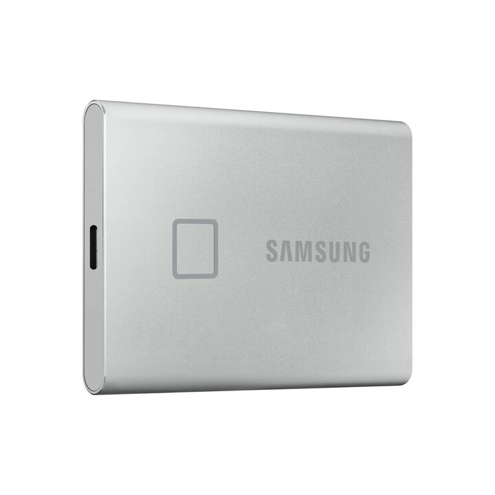 SAMSUNG T7 Touch (USB 3.1, 500 GB, Argento)