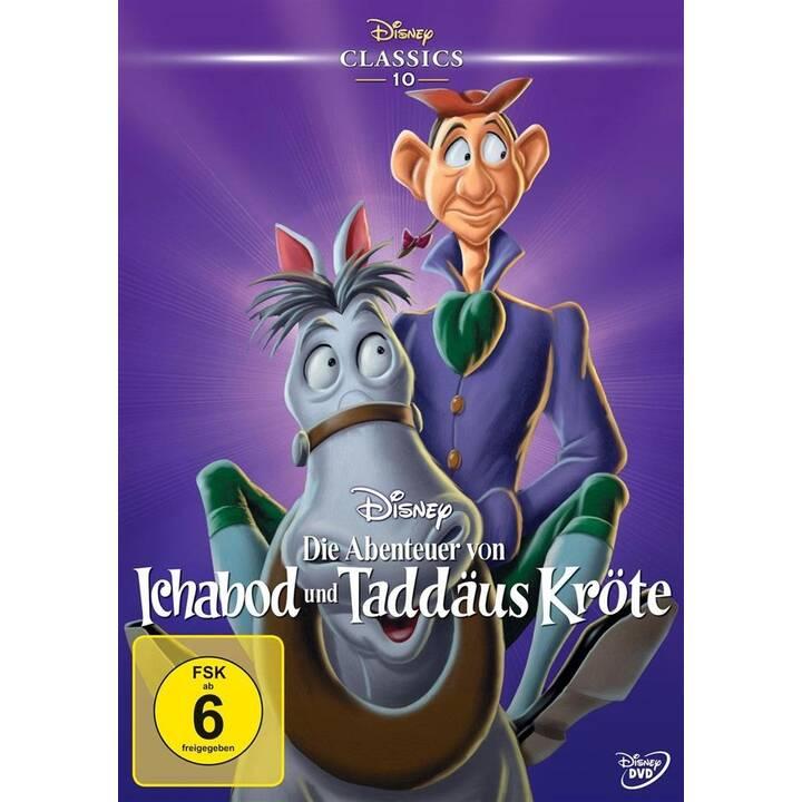 Die Abenteuer von Ichabod und Taddäus Kröte (DE, EN)