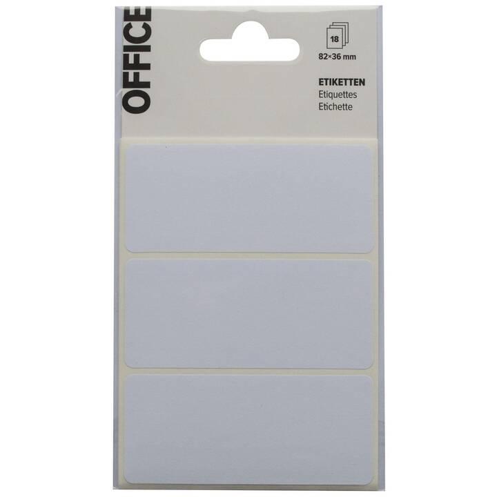 MARCHON OFFICE Étiquettes 82 x 36 mm (18 pièce)