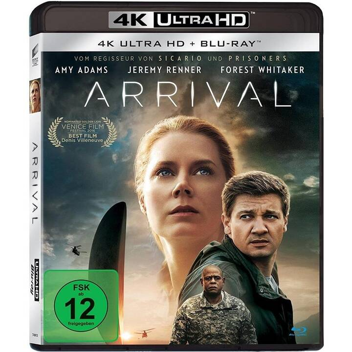 Arrival (4K Ultra HD, IT, ES, PT, TH, DE, RU, EN, FR, ZH, PL, TH, HU)