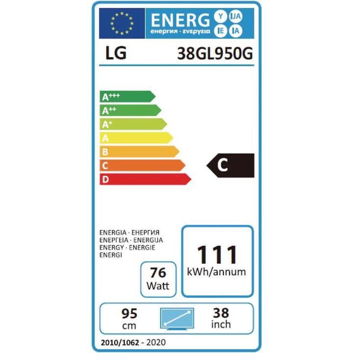 """LG UltraGear 38GL950G-B (38"""", 3840 x 1600)"""