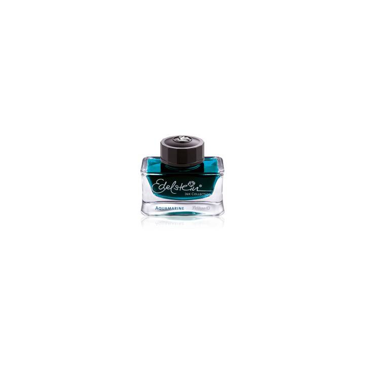 PELIKAN Gemstone Ink 50ml di acquamarina