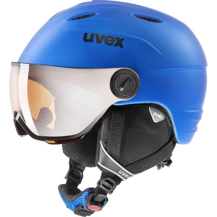 UVEX Skihelm Junior (Blau)