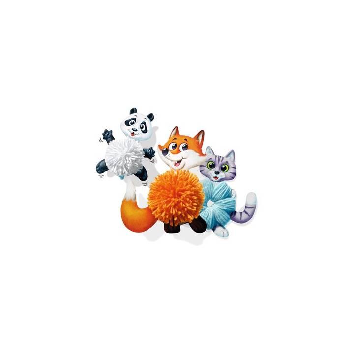 RAVENSBURGER Pompon (Weiss, Orange, Hellblau)