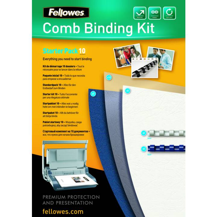Starter kit FELLOWES per 10 documenti