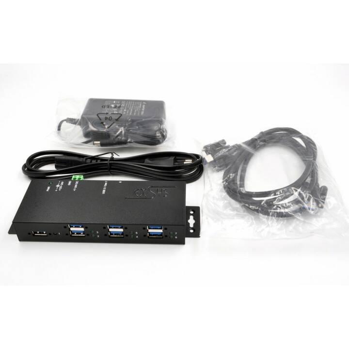 EXSYS USB-Hub EX-1189HMVS-2