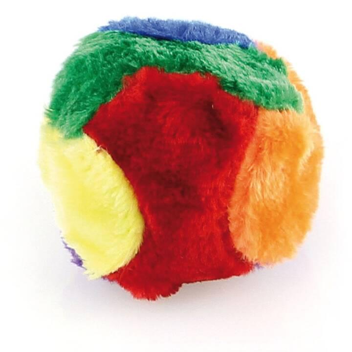 Plüsch Ball, D=10cm Bunte Farben, mit Qu