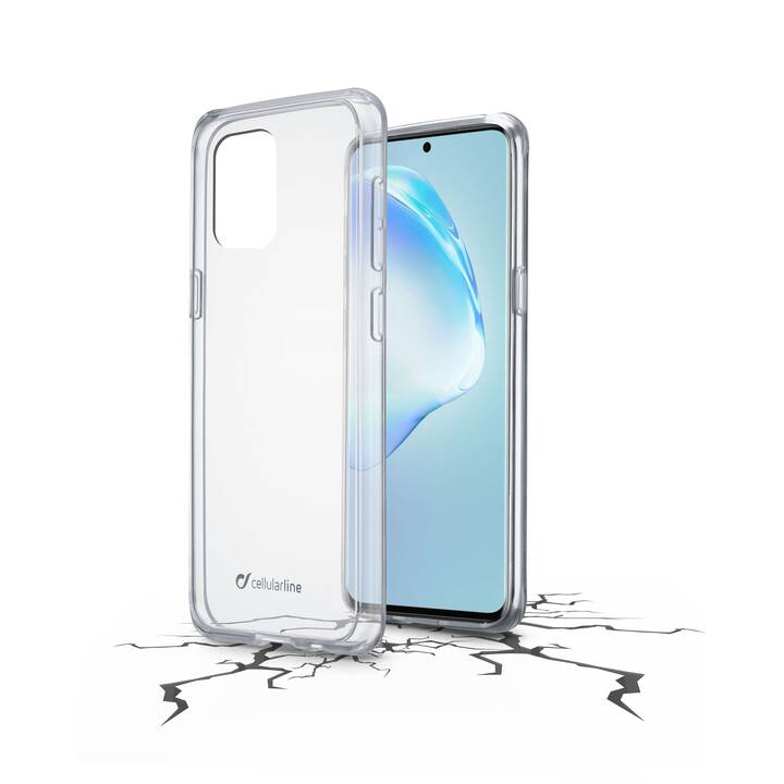 CELLULAR LINE Hardcase Clear Duo (Galaxy S20+, Transparente)