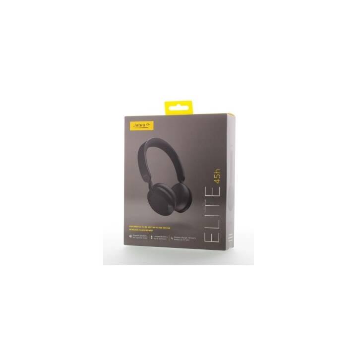 JABRA Elite 45h (On-Ear, Noir)