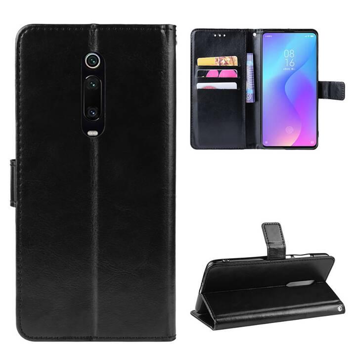 EG Mornrise Etui portefeuille pour Xiaomi Mi 9T Pro - Noir
