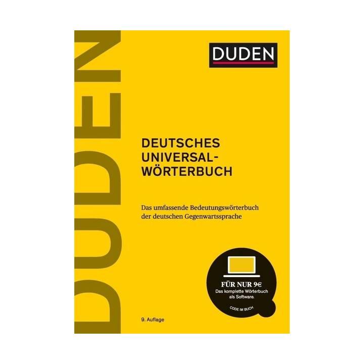 Duden - Deutsches Universalwörterbuch