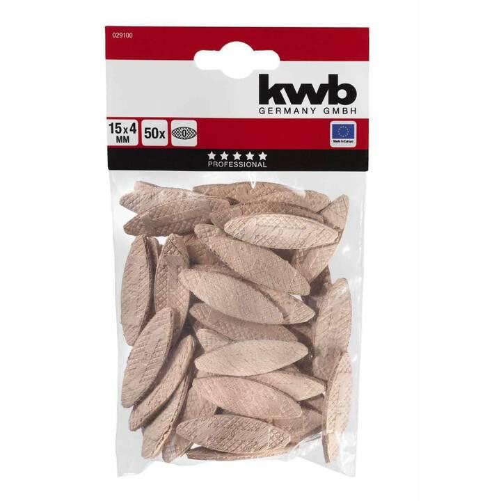 KWB Flachdübel (50 Stück)