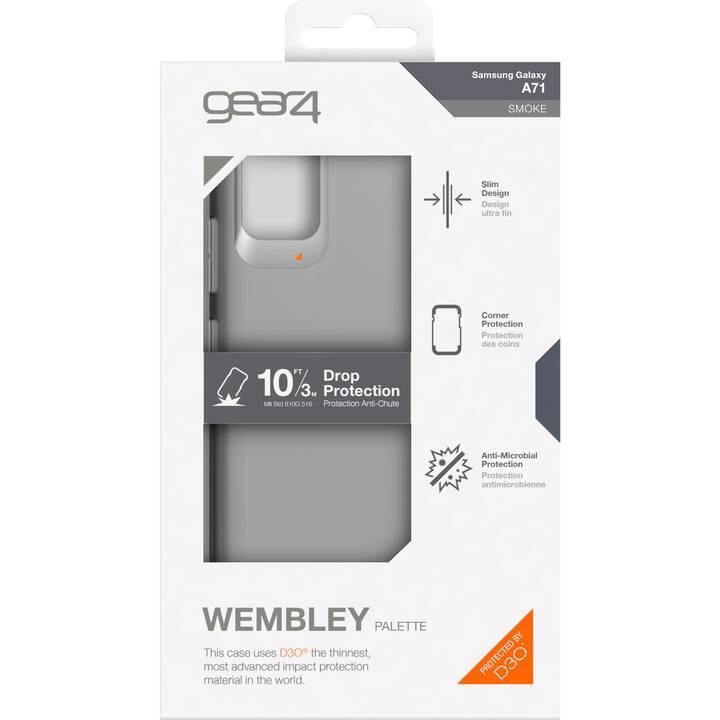 GEAR4 Backcover D3O Wembley (Galaxy A71, Grigio)