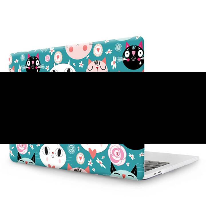 "EG MTT Cover pour MacBook Pro 13"" CD ROM - Cartoon Cats"