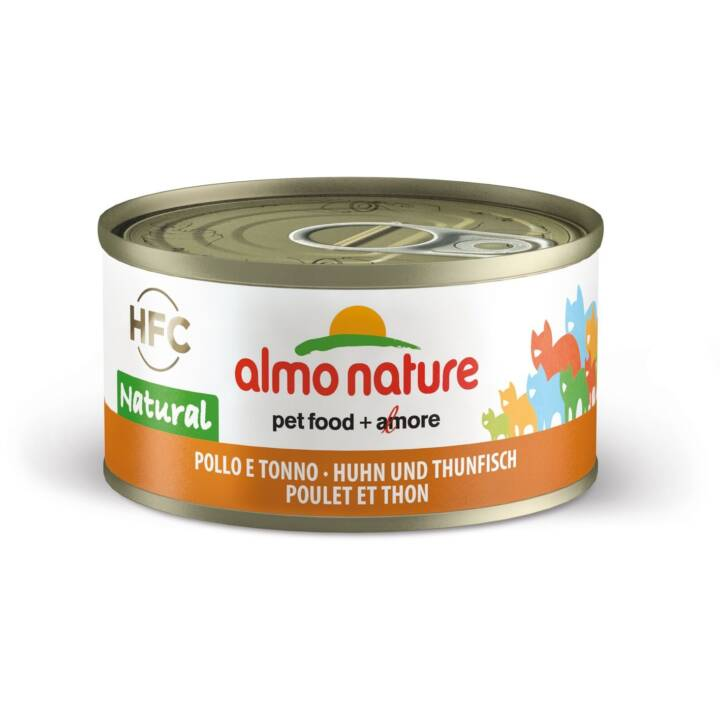 ALMO NATURE HFC Natural (Adulte, 70 g, Poule, Thon)