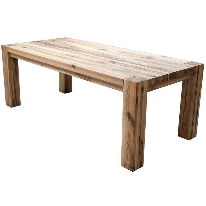 MUTONI WOOD Table de repas Edmonton  (160 cm x 90 cm x 76 cm)